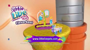 Little Live Pets Cleverkeet TV Spot, 'New and Now' - Thumbnail 5