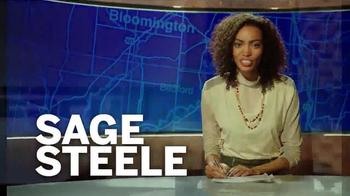Indiana University TV Spot, 'Fulfilling the Promise: Sage Steele' - Thumbnail 7