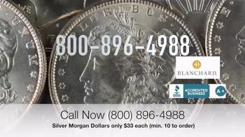 Blanchard and Company Silver Morgan Dollars TV Spot, 'Wild West' - Thumbnail 7