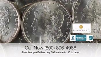 Blanchard and Company Silver Morgan Dollars TV Spot, 'Wild West' - Thumbnail 2
