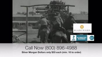 Blanchard and Company Silver Morgan Dollars TV Spot, 'Wild West' - Thumbnail 3