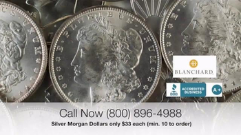 Blanchard and Company Silver Morgan Dollars TV Spot, 'Wild West' - Thumbnail 5