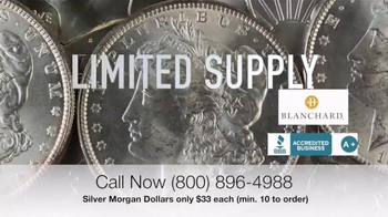Blanchard and Company Silver Morgan Dollars TV Spot, 'Wild West' - Thumbnail 6