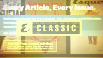 Esquire Classic TV Spot, 'Complete Digital Archive' - Thumbnail 3
