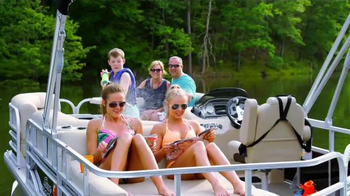 Sun Tracker Pontoon Boats TV Spot, 'Perfect Family Day'