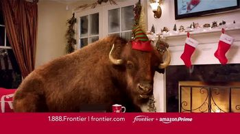 Frontier FiOS + Amazon Prime TV Spot, 'Hectic Holidays'