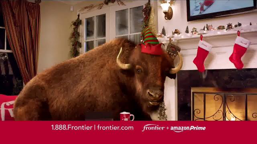 Frontier FiOS + Amazon Prime TV Commercial, 'Hectic Holidays'