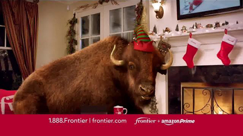 Frontier FiOS + Amazon Prime TV Spot, 'Hectic Holidays' - 87 commercial airings