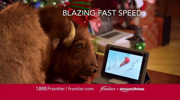 Frontier FiOS + Amazon Prime TV Spot, 'Hectic Holidays' - Thumbnail 3