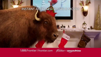 Frontier FiOS + Amazon Prime TV Spot, 'Hectic Holidays' - Thumbnail 4