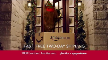Frontier FiOS + Amazon Prime TV Spot, 'Hectic Holidays' - Thumbnail 5