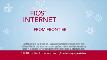 Frontier FiOS + Amazon Prime TV Spot, 'Hectic Holidays' - Thumbnail 6
