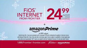 Frontier FiOS + Amazon Prime TV Spot, 'Hectic Holidays' - Thumbnail 8