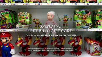 Toys R Us TV Spot, 'Two Pepperoni Pizzas' - Thumbnail 7