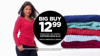 JCPenney La Venta Más Grande de Todas TV Spot, 'Big Buy' [Spanish] - Thumbnail 4