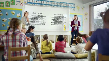 Lysol Disinfecting Wipes TV Spot, 'Whiteboard Test' - Thumbnail 1