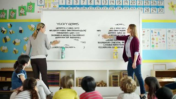 Lysol Disinfecting Wipes TV Spot, 'Whiteboard Test' - Thumbnail 5