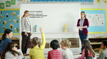 Lysol Disinfecting Wipes TV Spot, 'Whiteboard Test' - Thumbnail 8