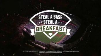 Taco Bell A.M. Crunchwrap TV Spot, 'Steal a Base, Steal a Breakfast' - Thumbnail 9