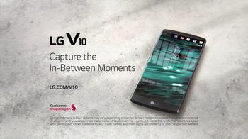 LG V10 TV Spot, 'In-Between Moments' - Thumbnail 9