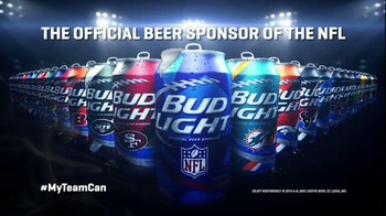 Bud Light TV Spot, 'Open a Can of Football: My Team Can' - Thumbnail 8