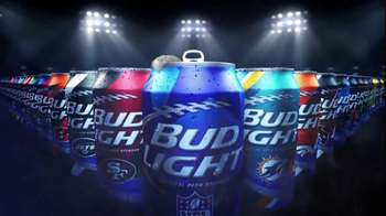 Bud Light TV Spot, 'Open a Can of Football: My Team Can' - 970 commercial airings