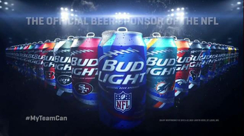 Bud Light TV Spot, 'Open a Can of Football: My Team Can' - Thumbnail 7