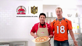 Papa John's Grandes Favoritas de los Jugadores TV Spot, 'Pizzas' [Spanish] - Thumbnail 6