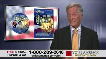 Swiss America TV Spot, 'Right on the Money' Featuring Pat Boone - 14 commercial airings
