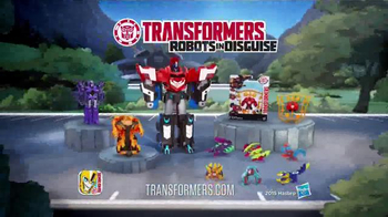 Transformers Robots in Disguise Mega Optimus Prime TV Spot, 'Converts Fast' - Thumbnail 7