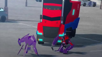 Transformers Robots in Disguise Mega Optimus Prime TV Spot, 'Converts Fast' - Thumbnail 3