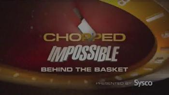 Sysco TV Spot, 'Sysco Stocks the Chopped: Impossible Pantry' - Thumbnail 1