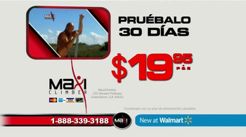MaxiClimber TV Spot, 'Pruébalo' [Spanish] - Thumbnail 6