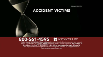 Sokolove Law TV Spot, 'Time Is Not On Your Side' - Thumbnail 1