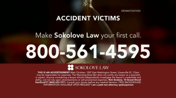 Sokolove Law TV Spot, 'Time Is Not On Your Side' - Thumbnail 10