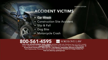 Sokolove Law TV Spot, 'Time Is Not On Your Side' - Thumbnail 3