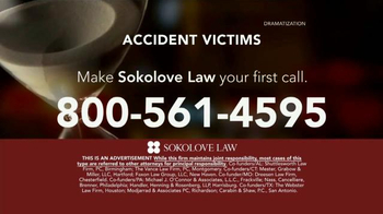 Sokolove Law TV Spot, 'Time Is Not On Your Side' - Thumbnail 7
