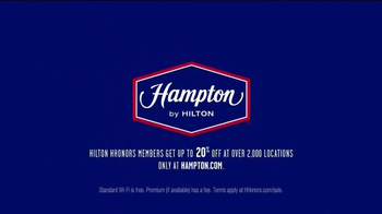 Hampton Inn & Suites TV Spot, 'Free WiFi: Air' - Thumbnail 7
