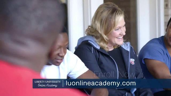 Liberty University Online Academy TV Spot, 'Christian Based Curriculum' - Thumbnail 8