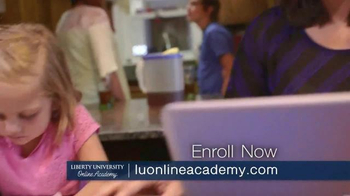 Liberty University Online Academy TV Spot, 'Christian Based Curriculum' - Thumbnail 9