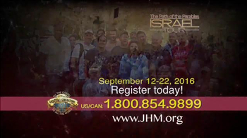 John Hagee Ministries TV Spot, '2016 The Path of the Parables: Israel Tour' - Thumbnail 5