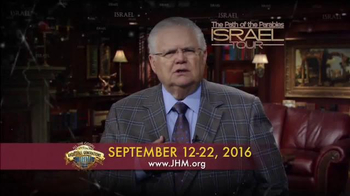 John Hagee Ministries TV Spot, '2016 The Path of the Parables: Israel Tour' - Thumbnail 2