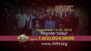 John Hagee Ministries TV Spot, '2016 The Path of the Parables: Israel Tour' - Thumbnail 4