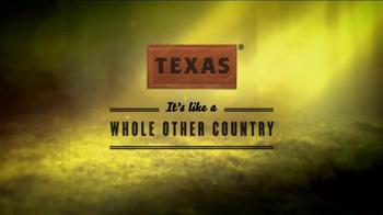 Texas Tourism TV Spot, 'Animal Planet: Wild Side' Featuring Pete Nelson - Thumbnail 10