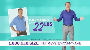 Nutrisystem Turbo10 TV Spot, 'It Happened' Ft. Marie Osmond, Dan Marino - Thumbnail 8