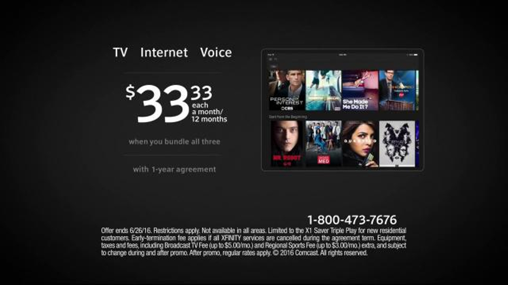 XFINITY Triple Play TV Commercial, 'Bundle and Save' - Video