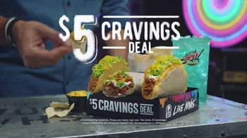 Taco Bell $5 Cravings Deal TV Spot, 'All the Cravings You Can Handle' - Thumbnail 8