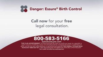 Sokolove Law TV Spot, 'Essure Birth Control' - Thumbnail 9