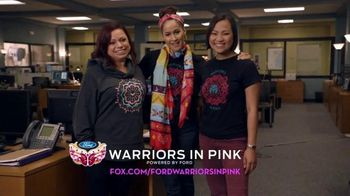 Ford Warriors in Pink TV Spot, 'FOX: Rosewood' Featuring Jaina Lee Ortiz