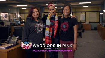 Ford Warriors in Pink TV Spot, 'FOX: Rosewood' Featuring Jaina Lee Ortiz - Thumbnail 9